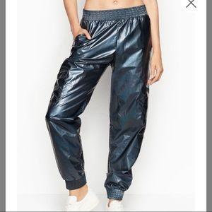 BNWT Victoria's Secret sport blue jogger pants xs